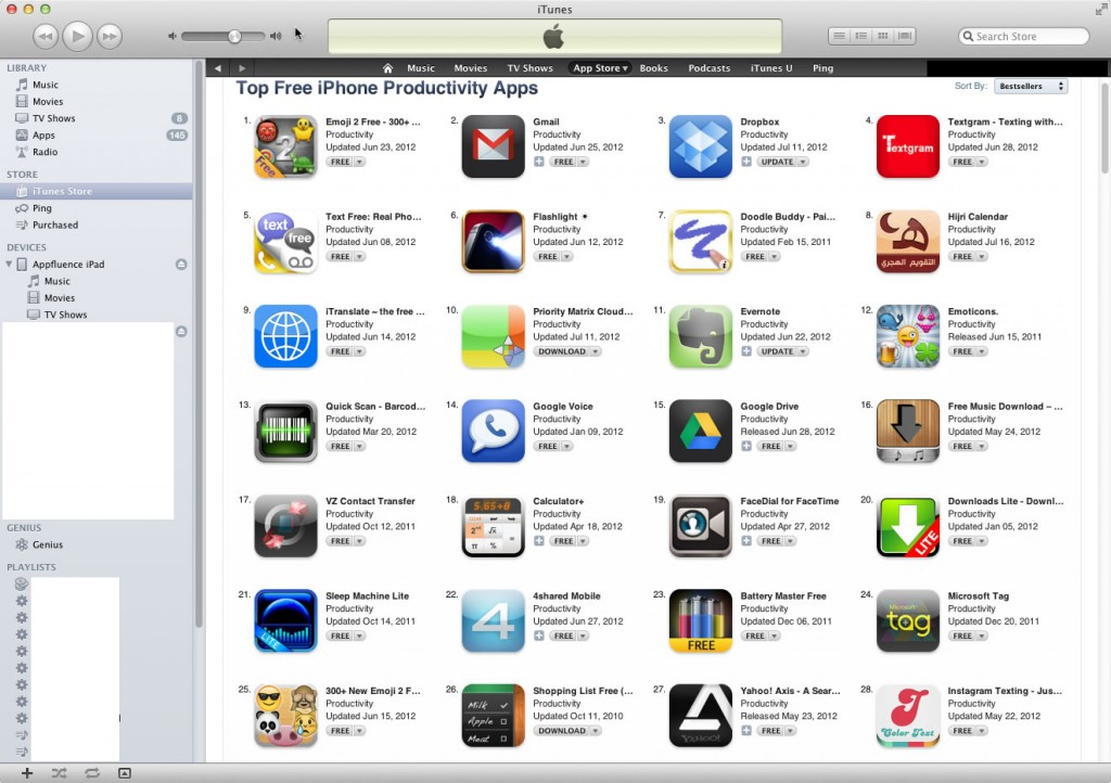 Priority Matrix Top 10 Free Productivity iPhone App